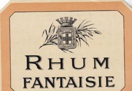 RHUM FANTAISIE / HABERER PLOUVIEZ ET DOUIN / PARIS 87 FAUBOURG SAINT DENIS - Rhum