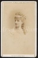 Photo-carte De Visite / CDV / Actrice / Actress / Sophie Croizette / Actrice Française / Photographer / Reutlinger - Oud (voor 1900)