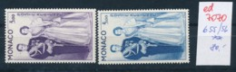 Monaco Nr.  655-6 **    (ed7070  ) Siehe Scan - Monaco