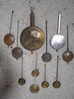 PENDULE = 1 LOT DE BALANCIERS D HORLOGERIE - Orologi Da Muro