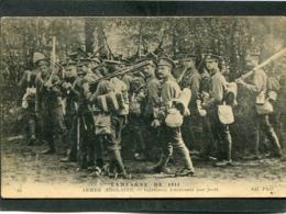 CPA - CAMPAGNE DE 1914 - ARMEE ANGLAISE - Infanterie Traversant Une Forêt - Guerra 1914-18