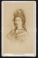 Photo-carte De Visite / CDV / Actrice / Actress / Jonassain / Actrice Française / Photographer / Reutlinger - Oud (voor 1900)