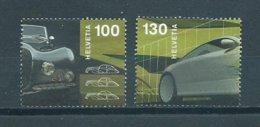 2005 Switzerland Complete Set Autosalon Geneve Used/gebruikt/oblitere - Used Stamps