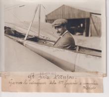 GRAND PRIX D'ANJOU GARROS LE VAINQUEUR DELA 1ER JOURNÉE MONOPLAN BLÉRIOT 18*13CM Maurice-Louis BRANGER PARÍS (1874-1950) - Aviación