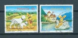 2005 Switzerland Complete Set Felix Der Hase Used/gebruikt/oblitere - Used Stamps