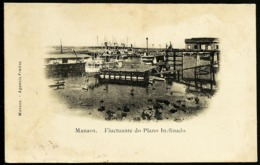 Manaus - Amazonas - Original Old Postcard, Flutuante Do Plano Inclinado, Ship - Used - Manaus