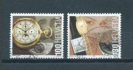 2005 Switzerland Complete Set Watches Used/gebruikt/oblitere - Zwitserland