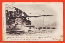 Trp149 Lisez Lancement D'une Torpille à Bord Du Cuirassé CHARLES MARTEL 1902 à Hippolyte MAIGNAL Villefranche - Warships