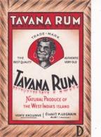 RARE ET TRES BELLE ETIQUETTE / TAVANA RUM / WESTINDIA S ISLAND / ALBI LEGRAIN - Rhum
