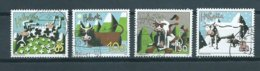 2006 Switzerland Complete Set Cow Art Used/gebruikt/oblitere - Used Stamps