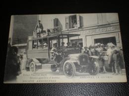ANNONAY -LA LOUVESC -Service Quotidien D'Autobus  SOCITE ANNONEENNE . - Annonay