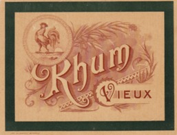 ETIQUETTE RHUM VIEUX / - Rhum