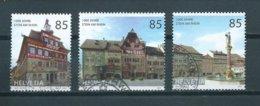 2007 Switzerland Complete Set Stein Am Rhein Used/gebruikt/oblitere - Zwitserland