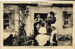 MA DOUCE BRETAGNE - L'AUBADE  DEVANT LA MAISON DE LA MARIEE  - Musiciens Et Enfants - Musique