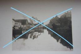 Photo SAINT OMER ? Péniche Barge Binnenscheepvaart Fin 19èmes Début 20ème S - Lieux