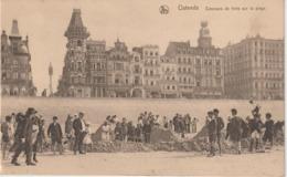 Belgique :  OSTENDE  :  Concours   De  Forts  De  Sable - België