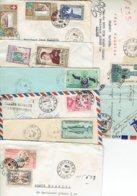 TP - MARCOPHILIE - LAOS  - 11 ENVELOPPES + 1 CP ENTRE 1958 ET 1962 - TB - Laos
