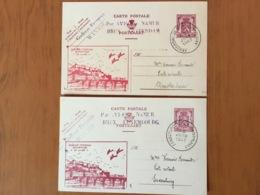 Aérodrome Namur Temploux Liaison Postale Vers Luxembourg Et Amsterdam 22 Juin 1947 - Autres