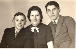 Familienfoto - Mutter Mit 2 Söhnen In Koblenz 1940 - Fotografie