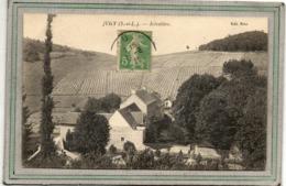 CPA - Environs De JUGY (71) - Aspect Du Hameau SCIVOLIERE En 1920 - (vigne, Vin, Viticulteur, Viticulture) - Other Municipalities