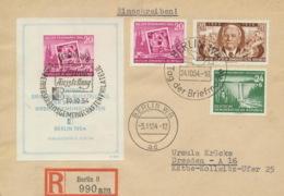 DDR Block 10, 431,443,445A Auf R-Brief - DDR