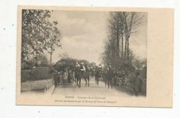 Cp ,17 , BOISSE , Souvenir De La Cavalcade ,bureau De Poste De Marsais ,vierge - Otros Municipios