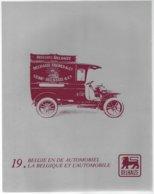 Coll.Delhaize,la Belgique Et L'automobile.3 Gravures: Bus Miesse 1931,Minerva M 8 1930,Minerva M 4 1934 - Autos