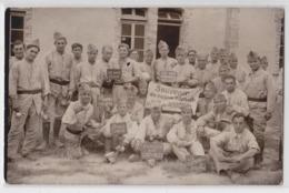 SISSONNE - Carte-photo Militaire - Sissonne