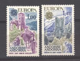 AN  -  Andorre  :  Yv  261-62  ** - Andorre Français