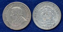 Südafrika 2 1/2 Sh. 1896 Paul Krüger Ag925 - Zuid-Afrika