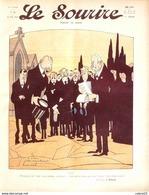 LE SOURIRE-1912-  9-Journal Humoristique-GERVESE HEMARD HERMANN FALKE DELAW - Livres, BD, Revues