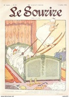 LE SOURIRE-1913- 27-Journal Humoristique-AVELOT-GERVESE-HEMARD-LABORDE- - Livres, BD, Revues