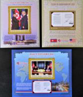 RENCONTRE HISTORIQUE KIM JONG UN ET DONALD TRUMP - NEUFS ** - NOUVEAUTE - Mongolie