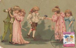 CELEBRATIONS, VALENTINE'S DAY, CHILDRENS, CM, MAXICARD, CARTES MAXIMUM, 2000, ROMANIA - Celebrations