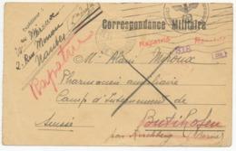 Correspondance Miltaire - 1940 - Cachet Allemand  - Prisonnier En Suisse - Rapatrié (12461) - Documenti