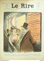 "REVUE ""LE RIRE""-1913-558-Dessin METIVET GERBAULT OPISSO GERVESE FALKE,FABIANO - Livres, BD, Revues"