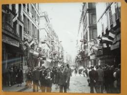 RUE PAVOISEE  LIBERATION DE PARIS GUERRE WW2 PHOTO DE PRESSE 24 X 18 Cm PHOTO PRESSE LIBERATION - Guerre, Militaire