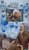 CENTRAL AFRICA 2015 - Nobel Prize: A. Einstein - YT CV=18 €, BF827 - Albert Einstein