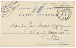Correspondance Miltaire - 1939  (12462) - Documenti