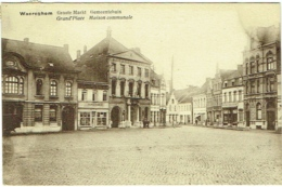 Waregem/Waereghem. Grote Markt. Gemeentehuis. Grand'Place. Maison Communale. - Waregem