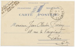 Correspondance Miltaire - 1940  (12463) - Documenti