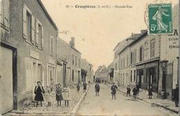 - Yvelines -ref-B738- Crespières - Grande Rue - Vins Traiteur  Epicerie - Magasin - Maison Debuire - Bal - - Altri Comuni