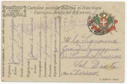 Correspondance Miltaire  IItalienne  1917  (12464) - Documenti