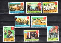 Zaire  - 1980. Armee Du Salut Aux USA: Ospedale Mlitare,Soccorsi,Pompieri...Hospital Mlitare, Aid, Firefighters ...MNH - Primo Soccorso