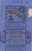 ETIQUETTE TABAC BASTOS / ORAN  / ALGERIE / RARE - Labels