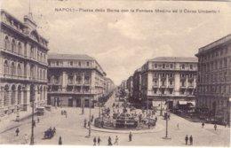 1921 Napolin Piazza Della Borsa Con Michetti 40c - Franc - 1900-44 Vittorio Emanuele III