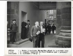 Académie Française Mr Charles Maurras  1939   Photo Studio HAVAS Cachet Au Dos   18x13cm - Personnes Identifiées