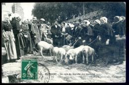 Cpa Du 22 Guingamp Un Coin Du Marché Aux Cochons   LZ109 - Guingamp