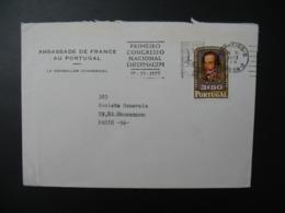 Portugal  Lettre à Entête   Ambassade De France Au Portugal   Lisboa  Pour Sté Générale  En France Bd Haussmann Paris - 1910-... République