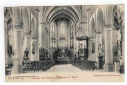 Oudenburg  -  Intérieur De L'Eglise.  Binnenste Der Kerk 1910 - Oudenburg
